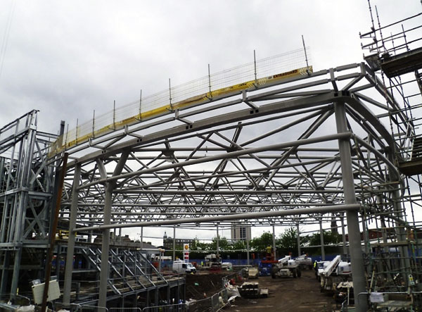Steel makes a splash in Dundee