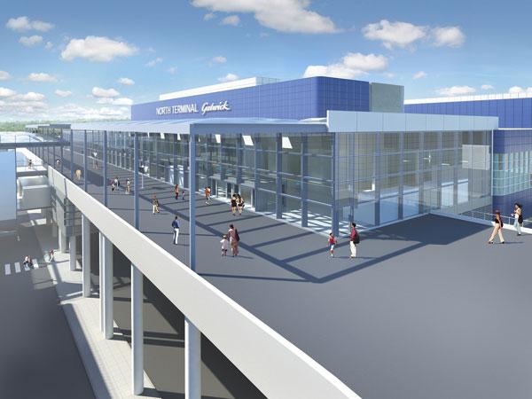Bigger North Terminal for Gatwick Airport
