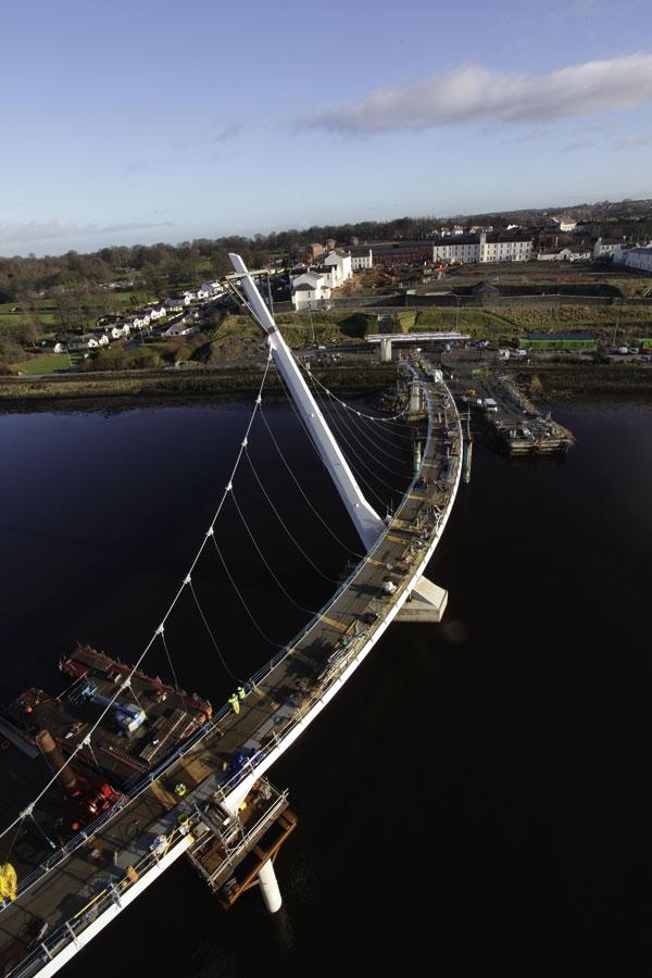 Iconic bridge to unite city