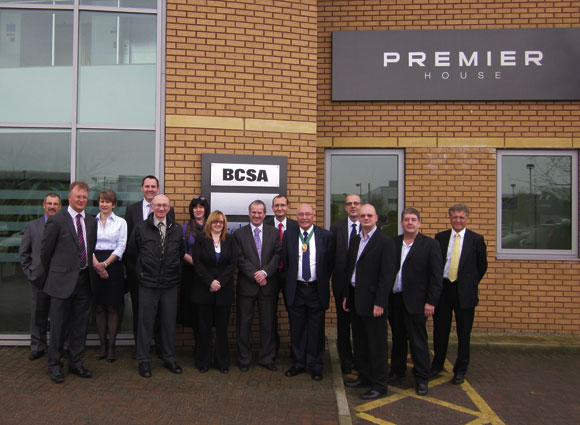 Official opening for BCSA office