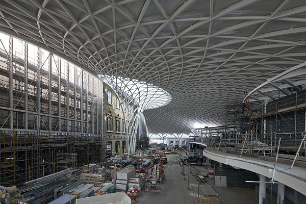 King's Cross redevelopment on line