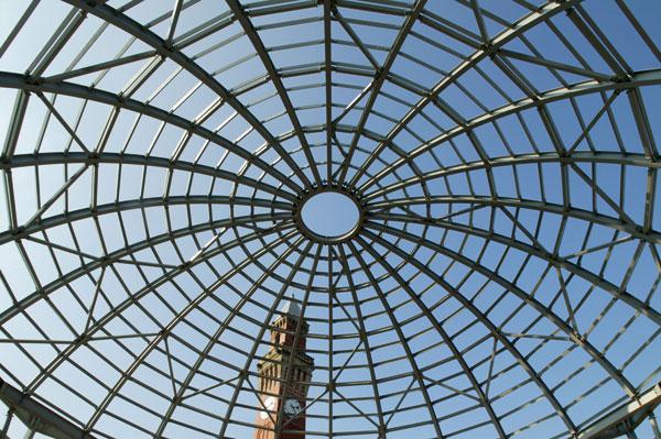 Domed auditorium completes historic crescent