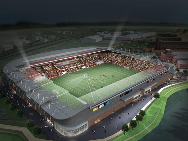 Stadium heralds football club's homecoming