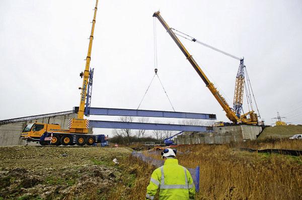 Bridge relief for Kentish town