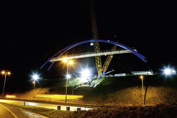 First Eurocode designed bridge erected in Devon