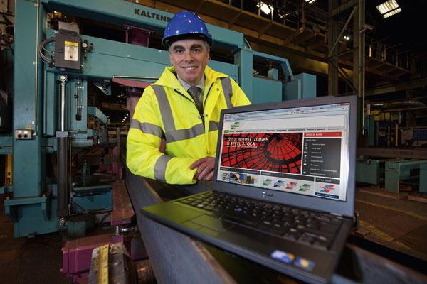 Barrett Steel invests in new website