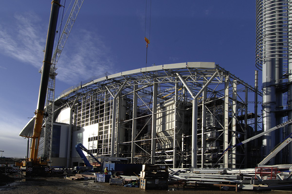 Power generation will provide boost to steel construction industry