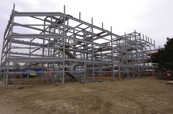 Steel boost for Kent college