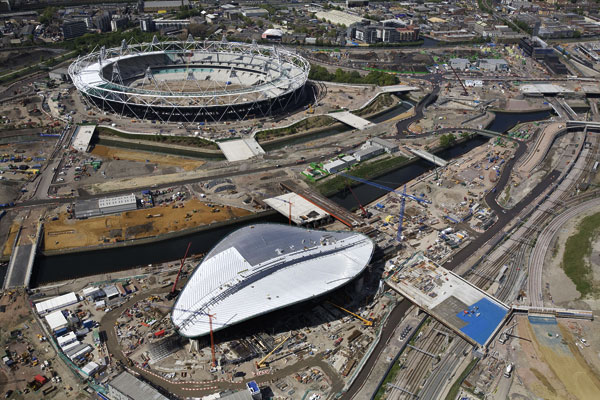 Olympic venues on track during busiest year