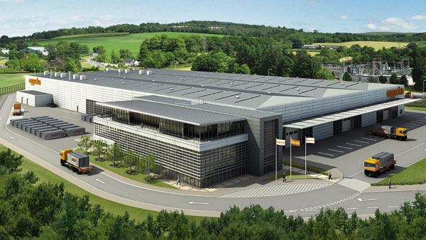 Steelwork creates cost effective manufacturing plant