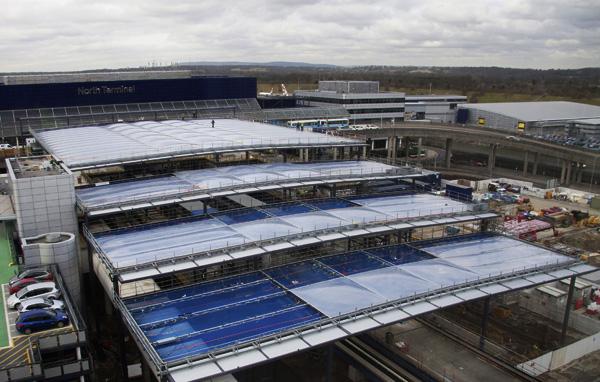New interchange checks in at airport