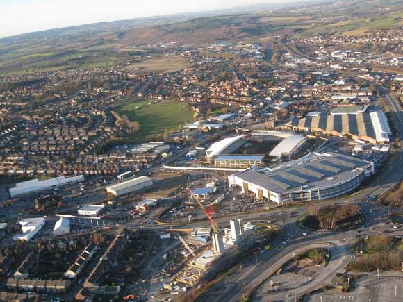Stadium kicks off regeneration