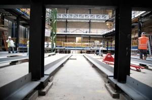 Guildhall School acoustic bearings