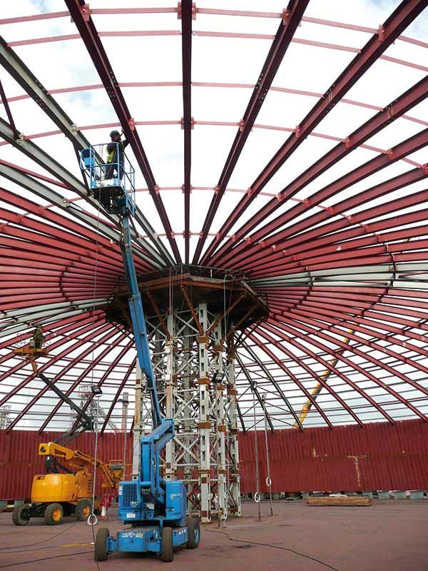 Steel making provides energy solution