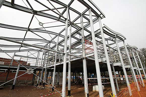 Bright future provided by steel framed schools