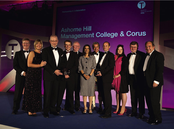 Prestigious training award for Corus