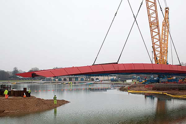 Bridge boost for Olympic rowing venue