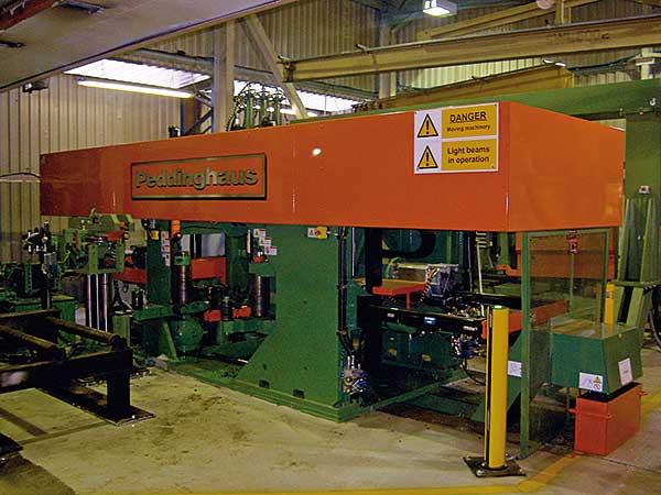 New machine improves fabricator's efficiency