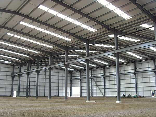 Corus provides building envelope for steel storage