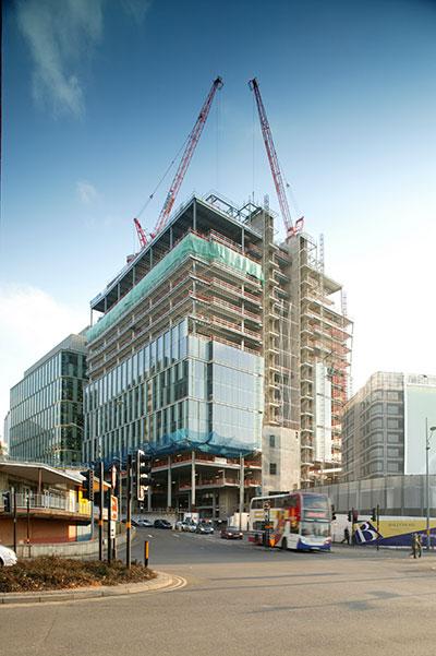 Major city-centre office development takes shape