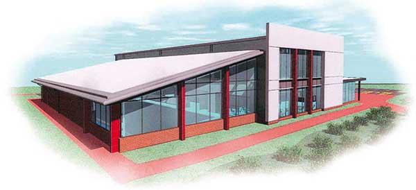 New community leisure centre