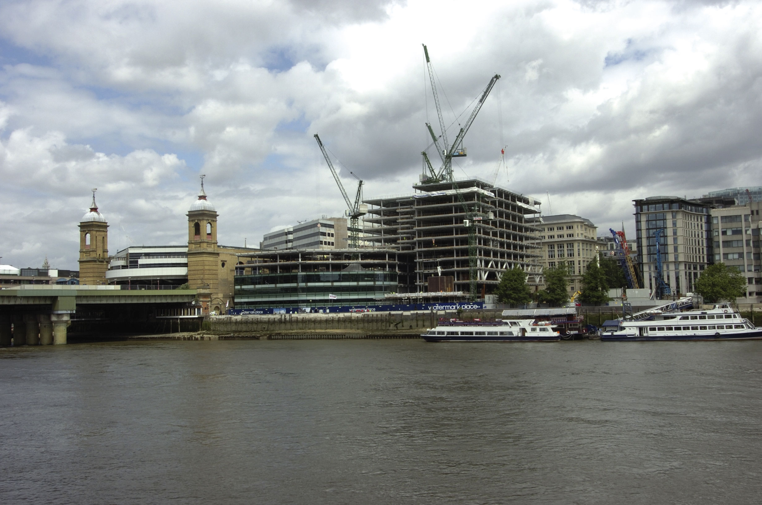 Sustainability in action on City of London development