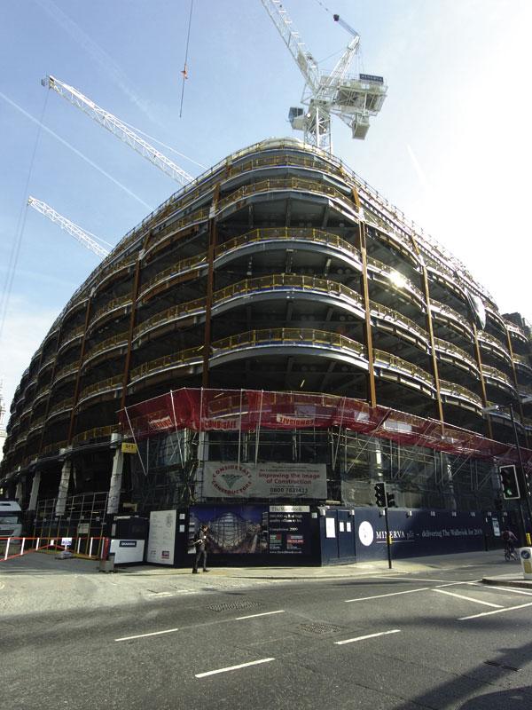 Skanska's landmark office for City of London
