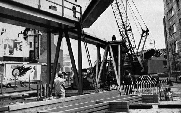 40 Years Ago: Relieving traffic congestion – re-erectable flyover at Bristol
