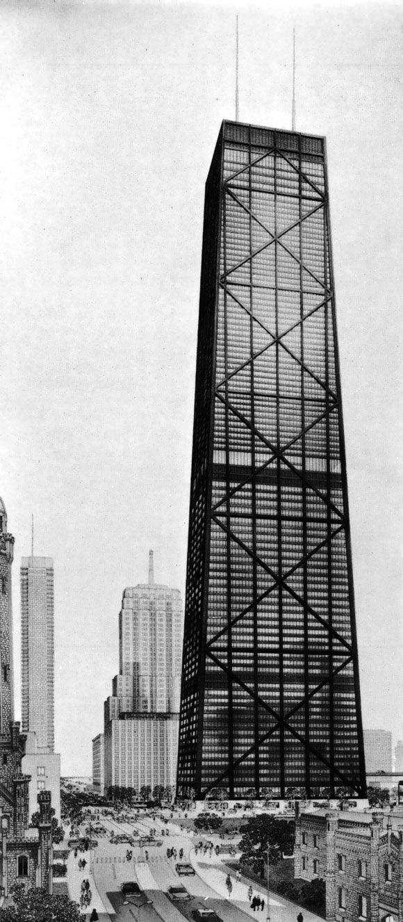 40 Years Ago: The world's tallest residential-office building begins to climb