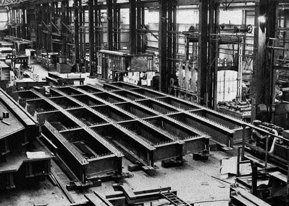 40 Years Ago: First British Rail bridge in weathering steel