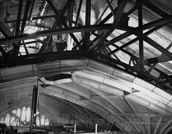 40 Years Ago: Steel trusses eliminate the Death Watch Beetle