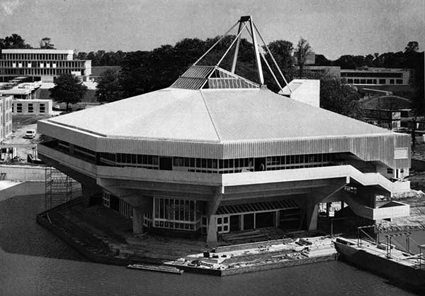 40 Years Ago: University of York – unusual roof structure