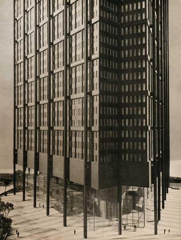 40 Years Ago: An architectural expression of structural steelwork with no conventional fireproofing