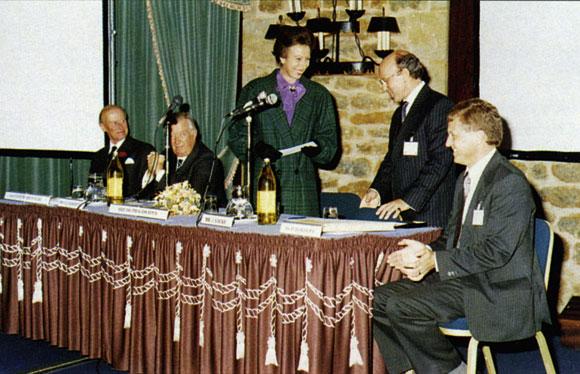 20 Years Ago: Princess Royal Opens BCSA/ECSS Conference