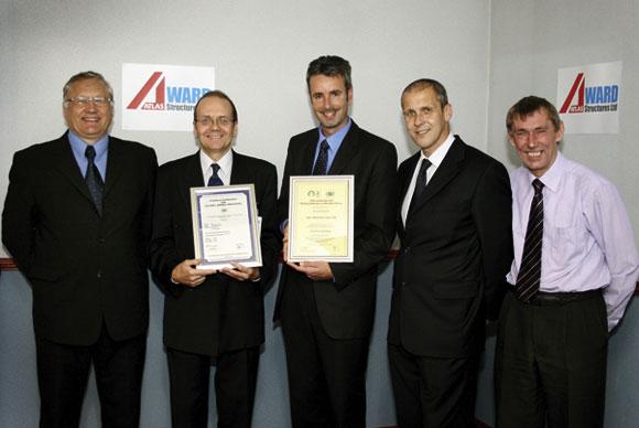 Steelwork contractor wins welding accreditation