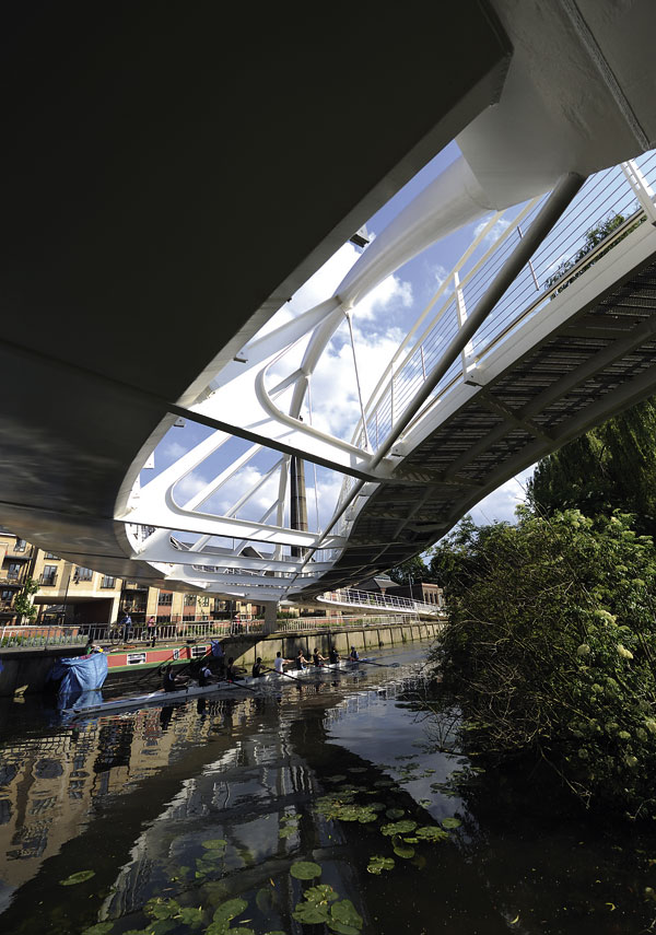 River Cam gets first crossing since 1971