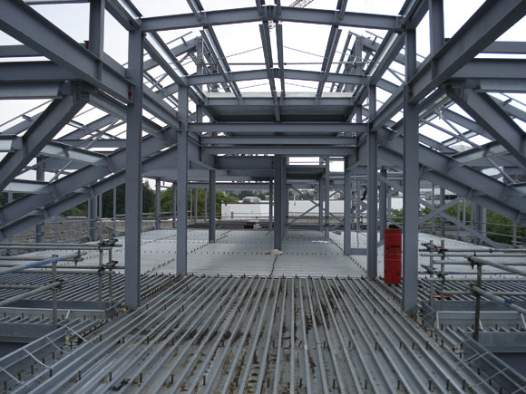 Island's healthcare gets a boost from steel