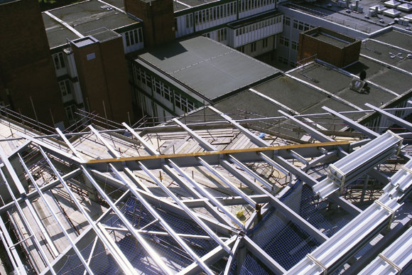 Steel tops new London college