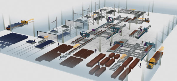 Automation of steel processing to dominate IPS Fair
