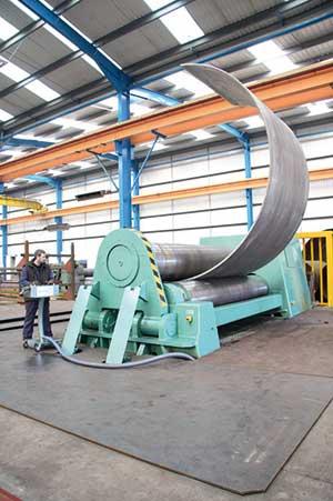 Regional support for major steel bending expansion