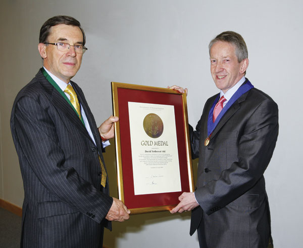 Gold Medal award  for outstanding contribution