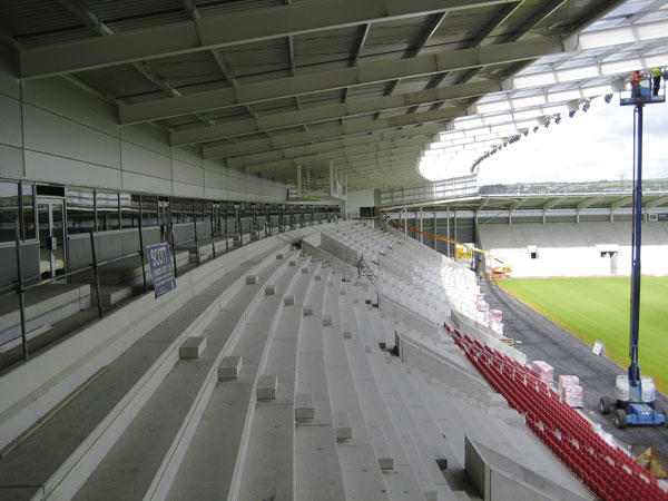 Steel forms new Welsh rugby citadel