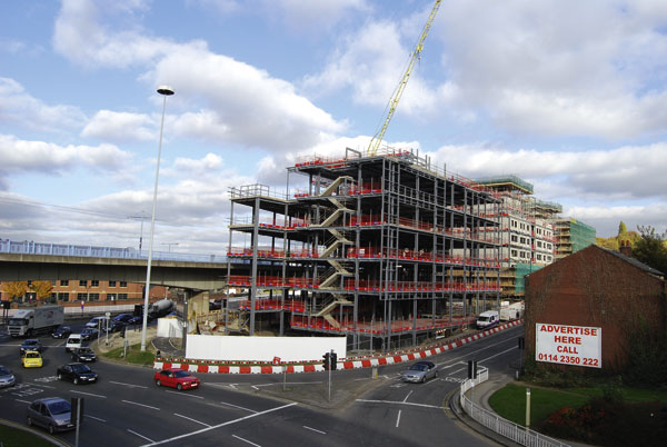 Student accommodation for steel city