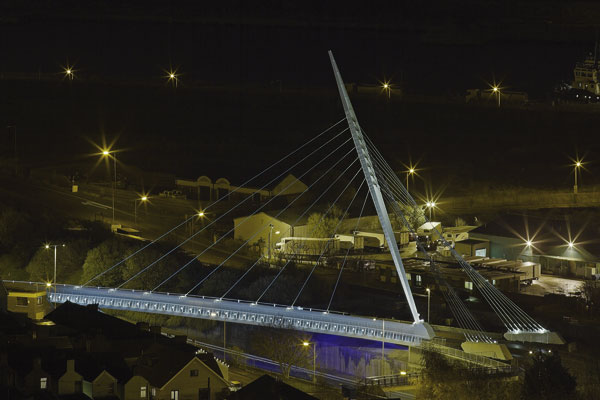 Swansea's park and ride gets an iconic bridge