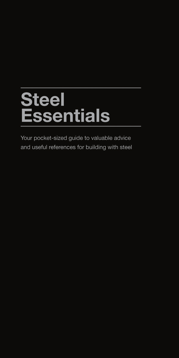 Invaluable advice for steel construction