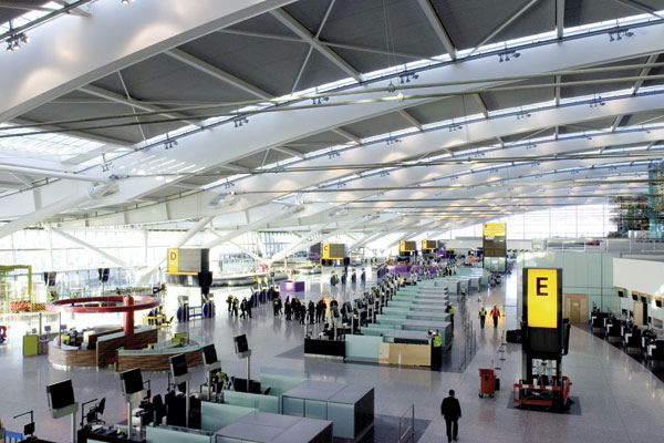 Terminal 5 up and running