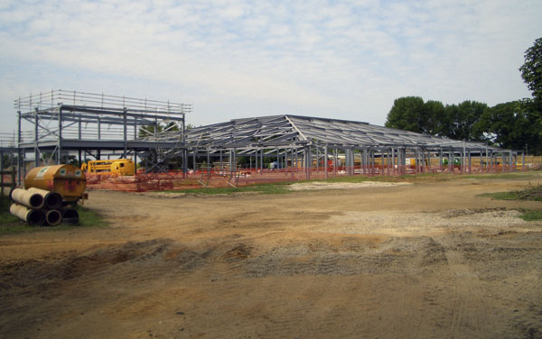 Steelwork provides a new home for rare breeds