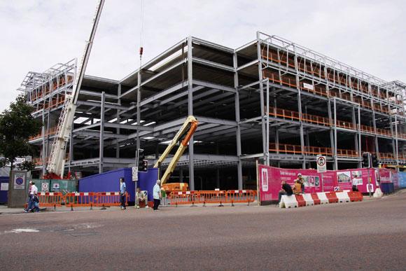Steel aids retail expansion