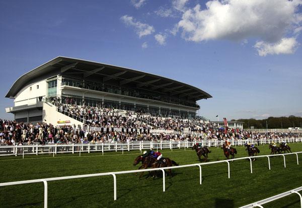Epsom grandstand ready for Derby Festival