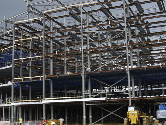 Hospital gets steel treatment